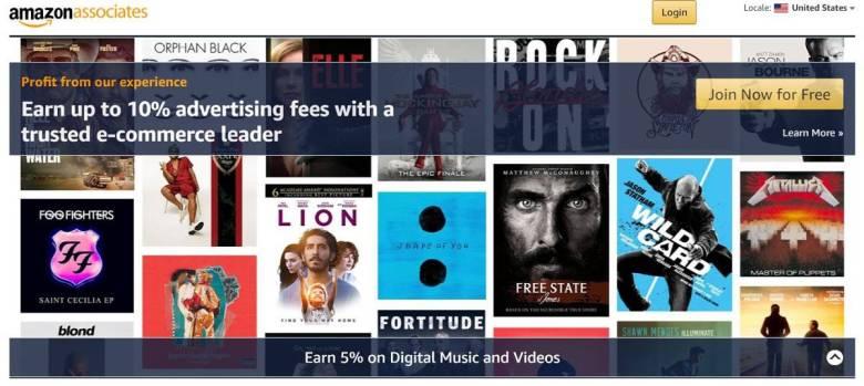 Programma di affiliazione Amazon per e-commerce