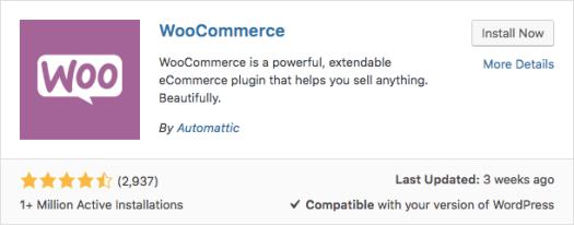 Plugin de WooCommerce