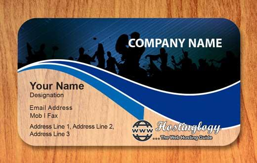 Free visiting cards with free delivery !
