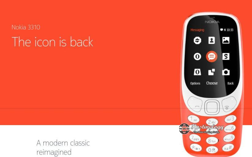 The Legendary Nokia 3310 Is Launched With Month Long Battery Life