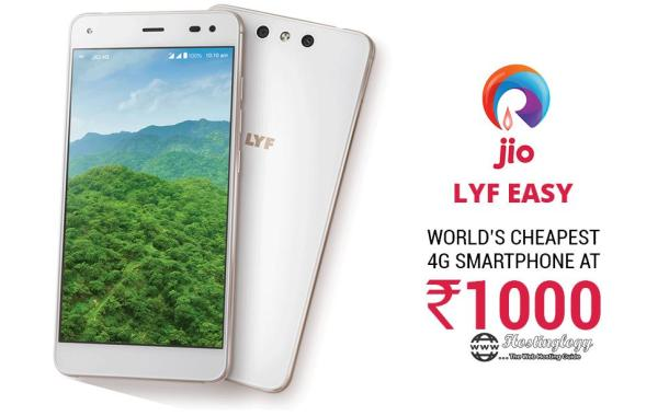 Reliance Jio to launch Rs 999 and Rs 1500 4G smartphone