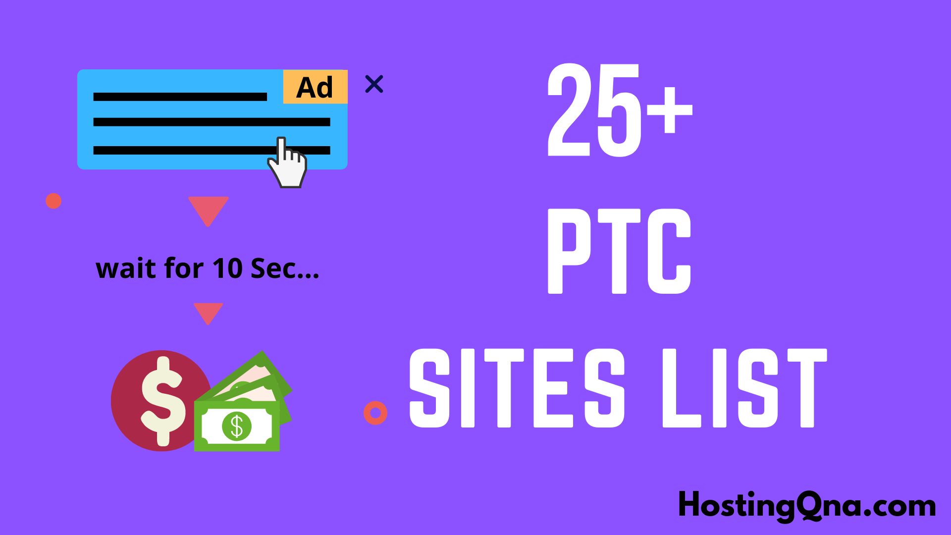 25+ Top trusted PTC sites - HostingQNA.com