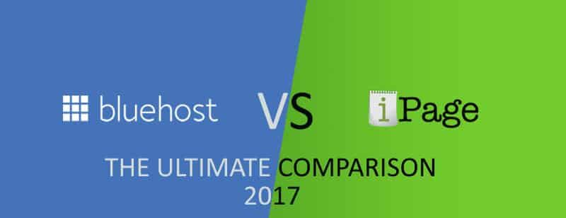 Bluehost VS i Page. Which is the best hosting in 2017?