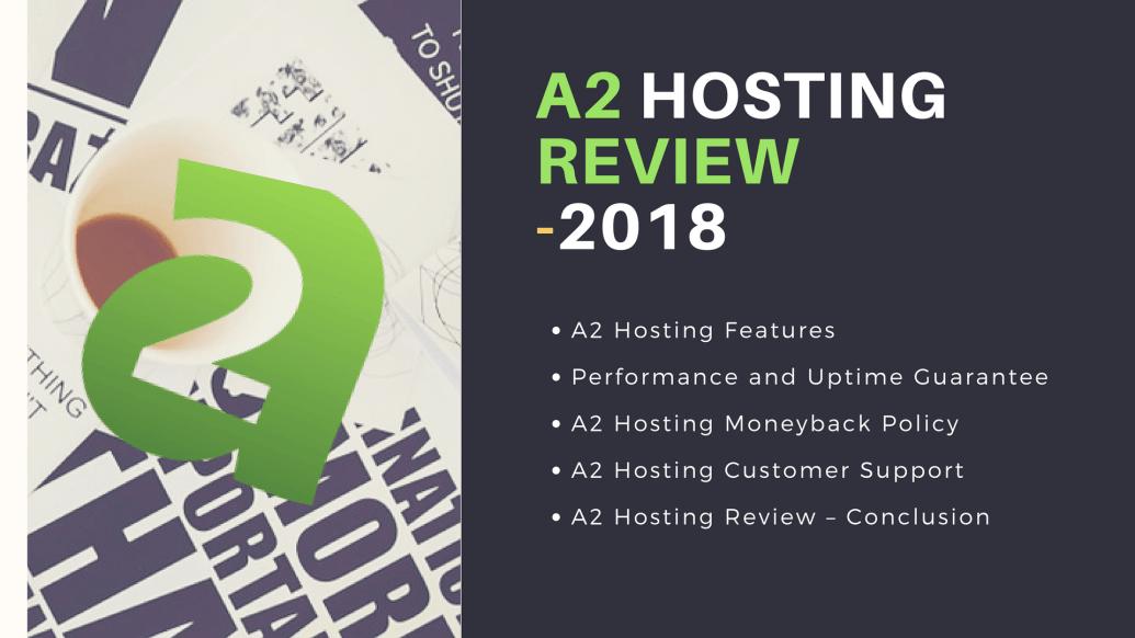 A2 Hosting Review