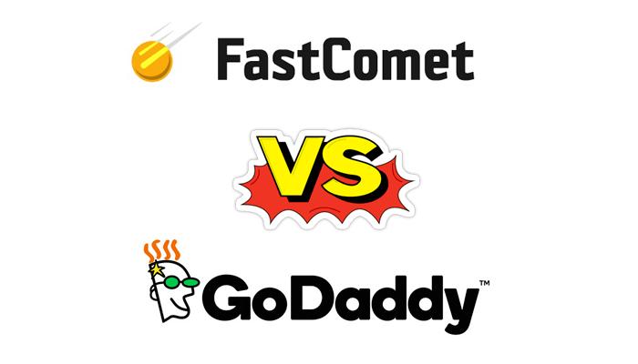 fastcomet Vs Godaddy Hosting Comparison