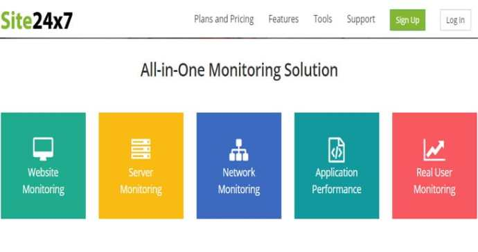 Site24x7 monitoring tool