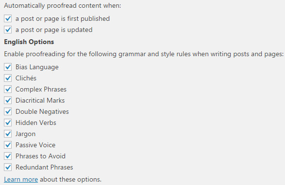 jetpack grammar features