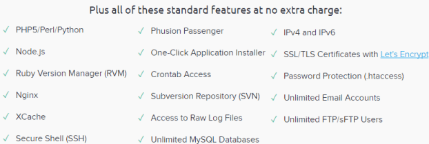 dreamhost VPS features