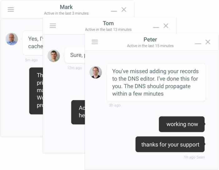 Kinsta-intercom-chat Kinsta Review 2019