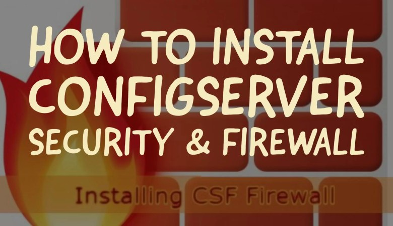 how to install ConfigServer Security
