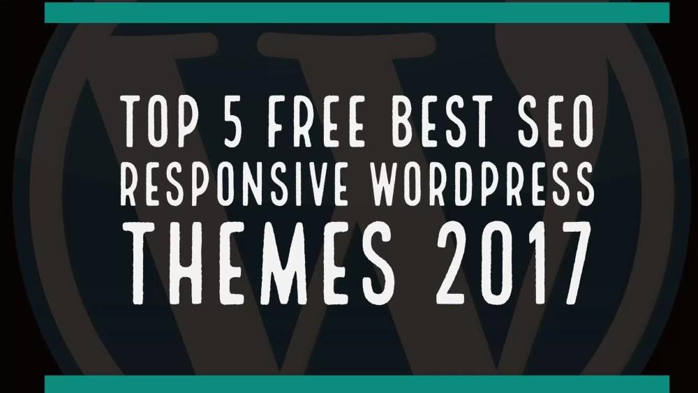 Top 5 free best seo responsive WordPress themes