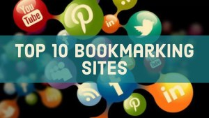 Social Bookmarking Sites : Top 10 Bookmarking Sites