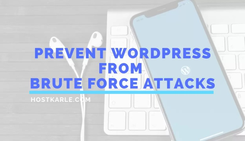 Brute Force Attack, Brute Force Attack WP