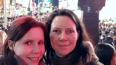Mum visits Au Pair daughter in New York