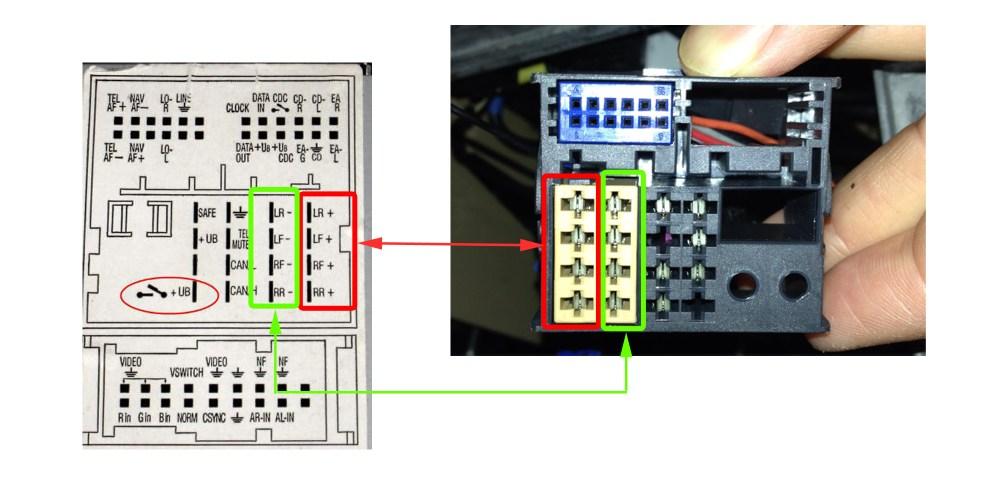 medium resolution of 2004 vw touareg radio wiring diagram