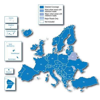 City Navigator Europe NT Unicode 2017.30 All Map Unlocked