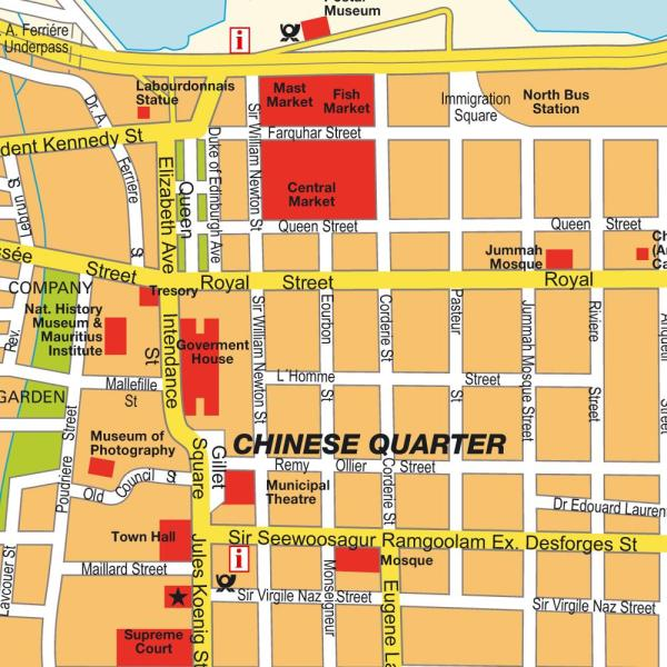 Map Port Louis Mauritius Maps and directions at hotmap