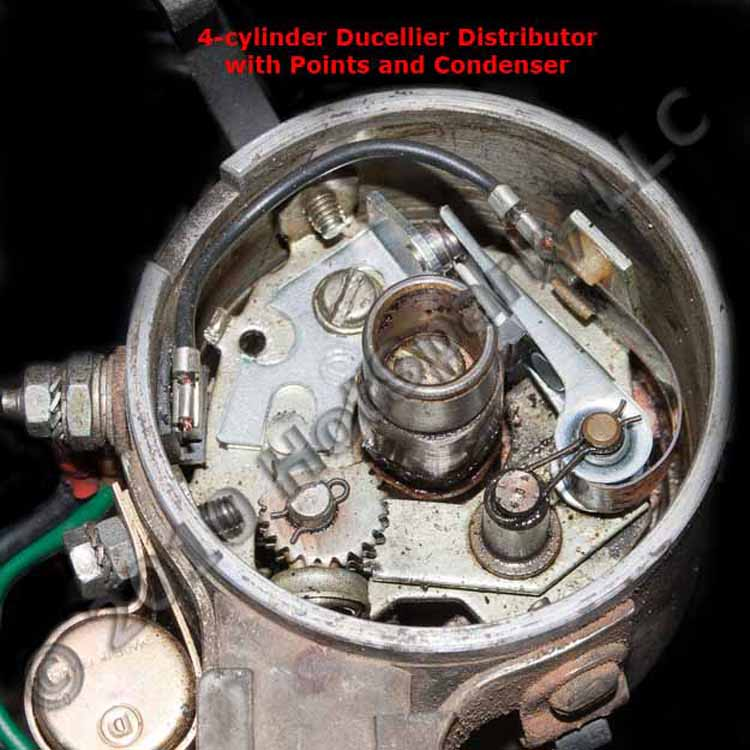 Cyl Electronic Distributor Replaces Lucas 45d Mg Mga Mgb Midget More