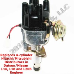 Msd Wiring Diagram Hei For Trailer Socket New Hs-hit4 Replacement Electronic Distributor Vehicles With Points-based Hitachi/mitsubishi ...