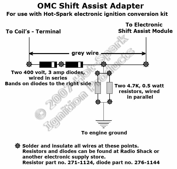 mopar electronic ignition conversion wiring diagram conjunctiva human eye anatomy kits for inboard marine engines www hot spark com omc shift assist adapter jpg