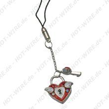 Handyschmuck Trend n Style Heart Lock für alle Handys
