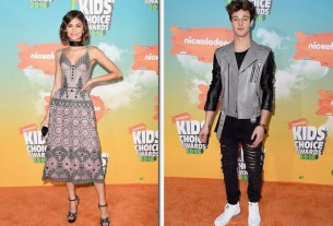 Zendaya, Cameron Dallas and More at 2016 Kids' Choice Awards Orange Carpet