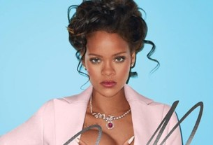 Rihanna Grabs Her Boob While Posing as Marie Antoinette for Sexy Photoshoot