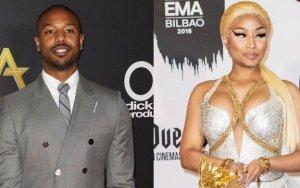 Michael B. Jordan Can't Stop Thinking Of Stripping Nicki Minaj After Her 'Sexy' Plea At PCAs