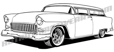 57 Chevy Panel Wagon, 57, Free Engine Image For User