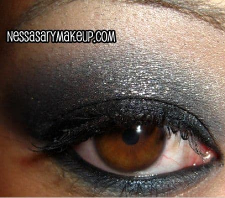 Add some color with this purple smokey eye look from Makeup Geek!