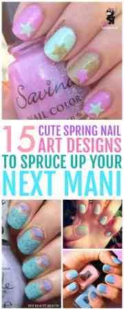 cute spring nails and nail art