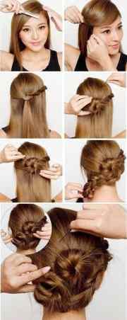 chic bun hairstyles love