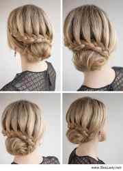 chic bun hairstyles love