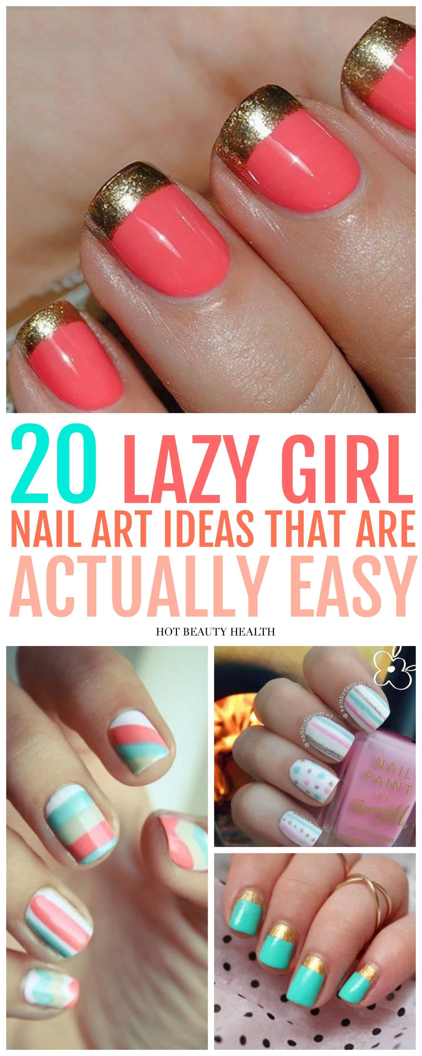 20 Simple Nail Designs for Beginners  Hot Beauty Health