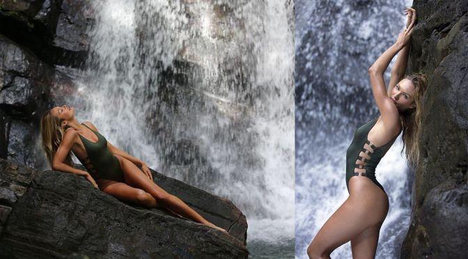 "Candice Swanepoel – ""Candice's Rainforest Adventures"" Victoria's Secret Potoshoot"