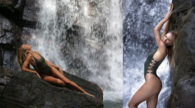 "Candice Swanepoel - ""Candice's Rainforest Adventures"" Victoria's Secret Potoshoot"