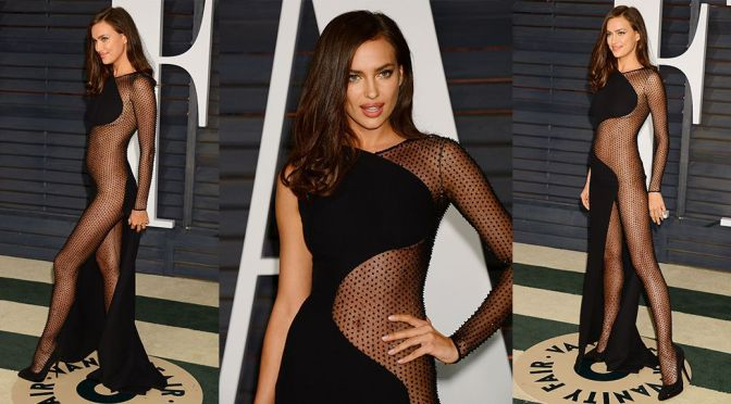 Irina Shayk - Vanity Fair Oscar Party in Hollywood