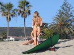 "Kerrie McMahon - ""138 Water"" Bikini Photoshoot in Malibu"
