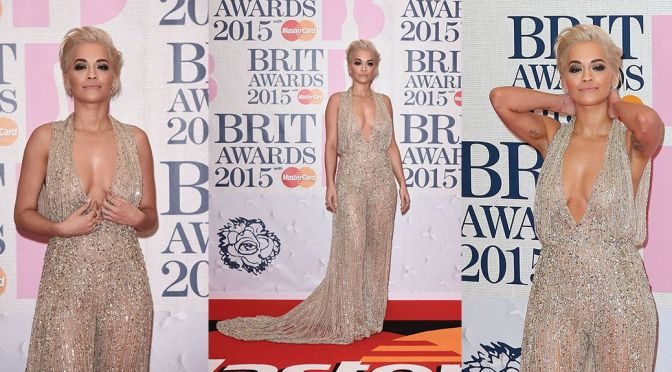 Rita Ora – BRIT Awards in London