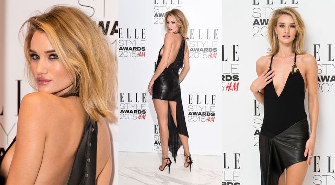 Rosie Huntington-Whiteley – Elle Style Awards in London