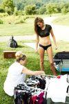 Solveig Mork Hansen - Sports Illustrated Swimsuit 2015 Behind the Scene