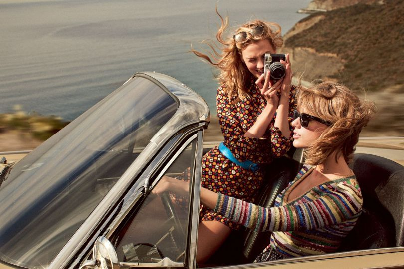 Taylor Swift & Karlie Kloss - Vogue Magazine (March 2015)