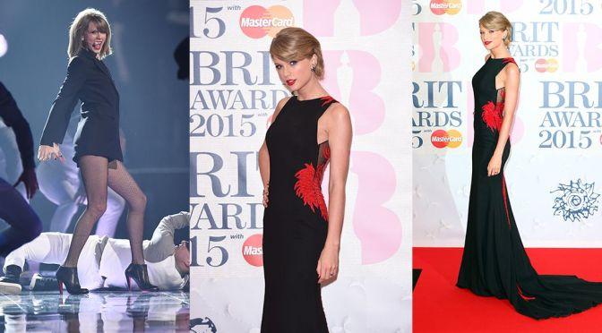 Taylor Swift – BRIT Awards in London
