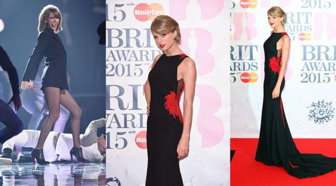 Taylor Swift - BRIT Awards in London