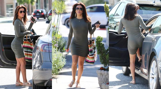Eva Longoria – Candids in West Hollywood