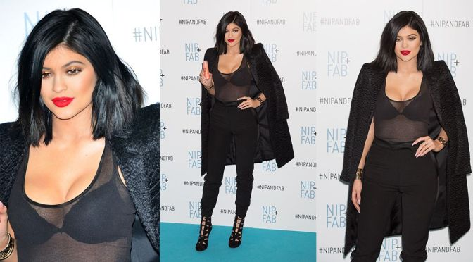 Kylie Jenner – Nip + Fab Photocall in London