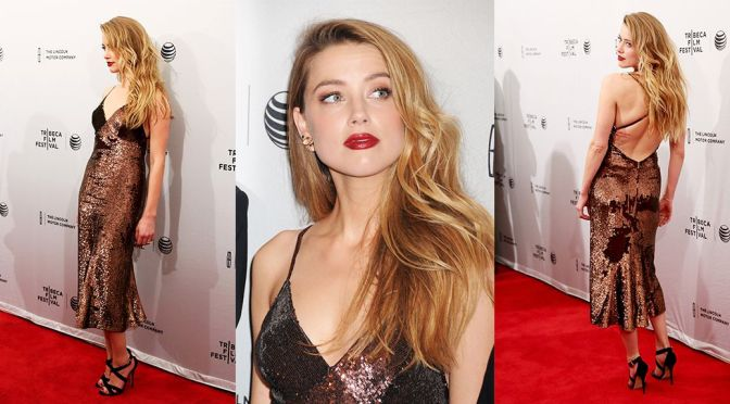 "Amber Heard – ""When I Live My Life Over Again"" Premiere in New York"