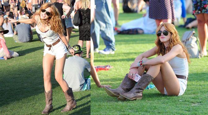 Bella Thorne – Coachella Music Festival Day 2