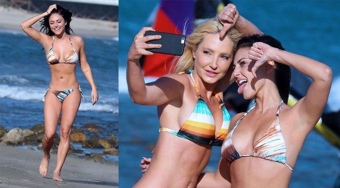 Cassie Scerbo – Bikini Candids in Malibu