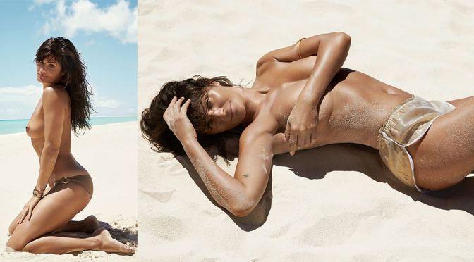 """Helena Christensen – """"Madame Figaro"""" Magazine Topless Photoshoot (April 2015) (NSFW)"""